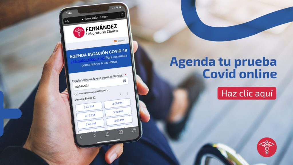 AGENDA LABORATORIO CLINICO FERNANDEZ- COVID
